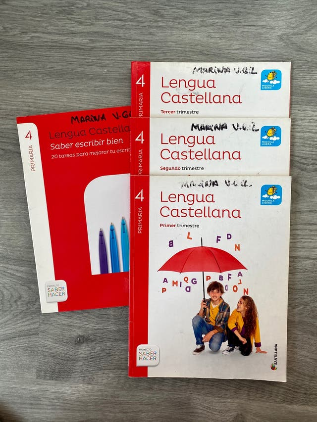 Lengua castellana cuarto de primaria