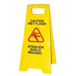 Señal suelo mojado