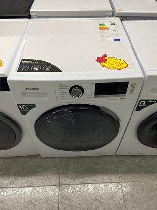 Lavadora secadora Hisense 10/7kg A 1400Rpm