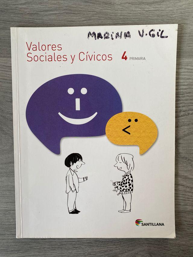 Cuarto de primaria valores sociales y cívicos
