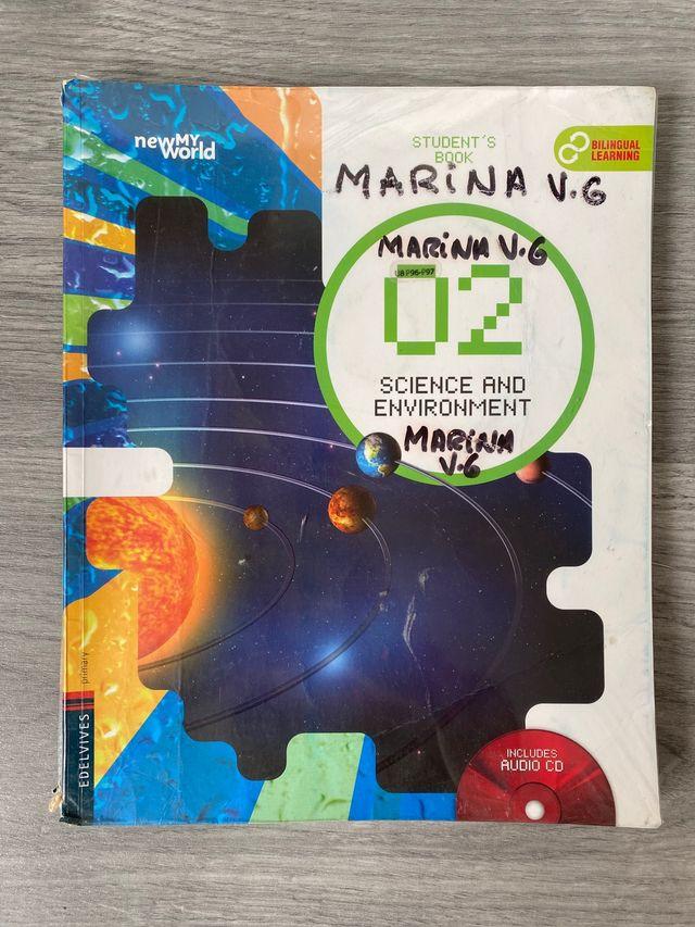 Libro escolar Science segundo de primaria