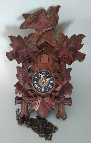 Reloj antiguo pared alemán cucu
