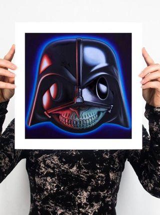 Ron English Vader Grin