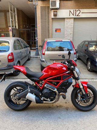Ducati monster 797 plus , limitada A2