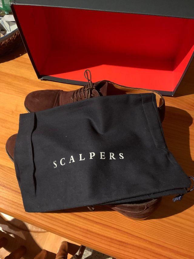 Zapatos marrones Scalpers