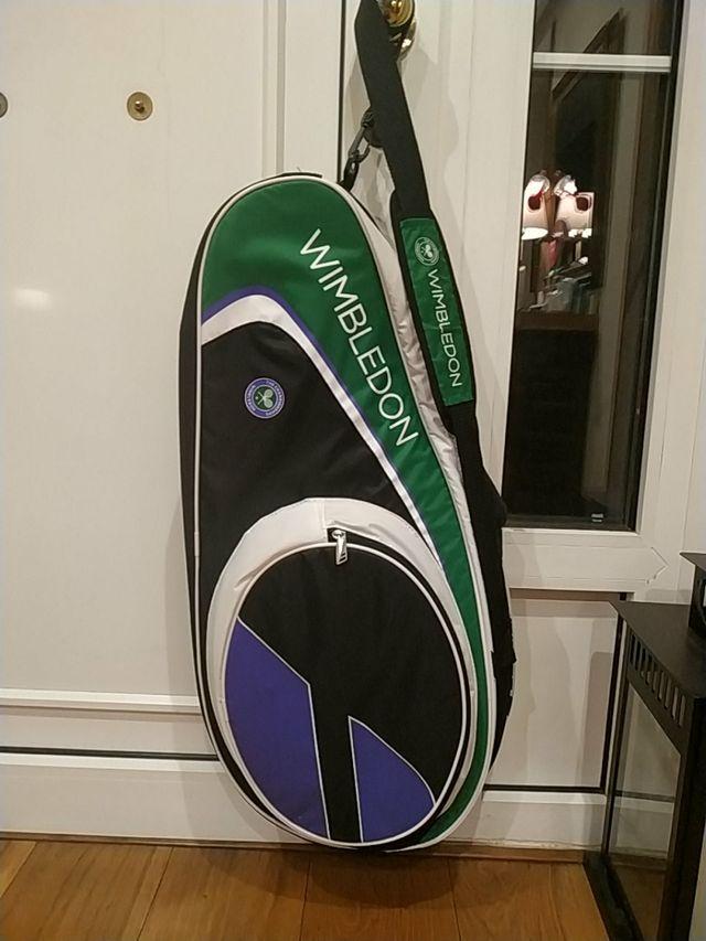 Raquetero de tenis para 3 raquetas