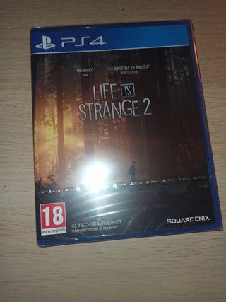 Life is strange 2 nuevo precintado para PS4