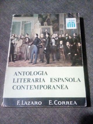 Antología literaria española contemporánea