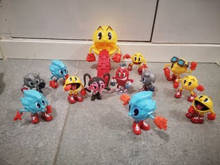 pac man muñecos articulables