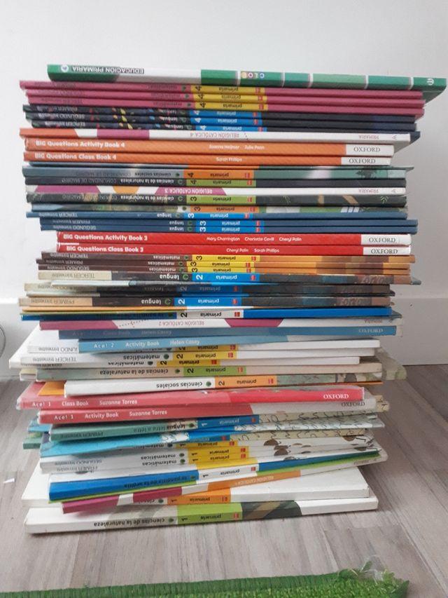 Libros de 1 a 4 de Primaria