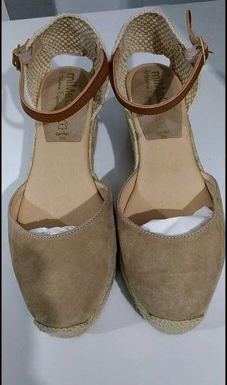 Zapatos de ciña de esparto Mimao