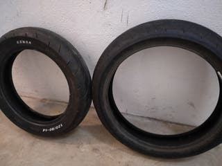 neumáticos (slicks) supermotard para moto
