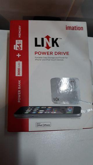 iPhone memoria y cargador