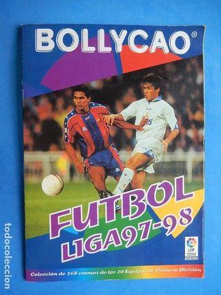 Album cromos Bollycao Futbol Liga 97-98