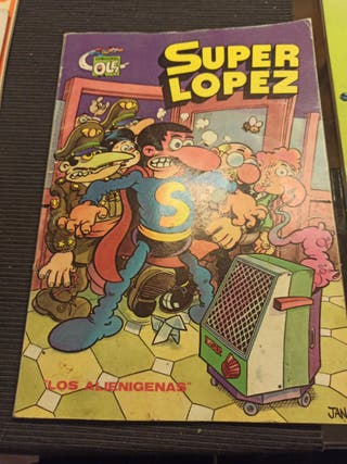 SuperLopez: Los alienígenas