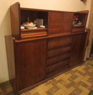 Mueble Cama Vintage. Principios años 60.