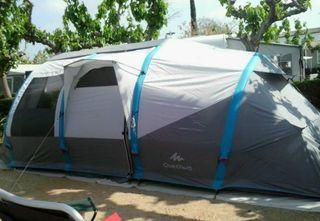 Tienda de camping Air seconds 6.3 XL Decathlon