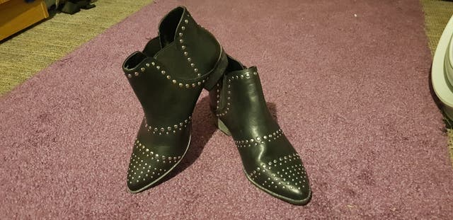 Black Boots - Size 6