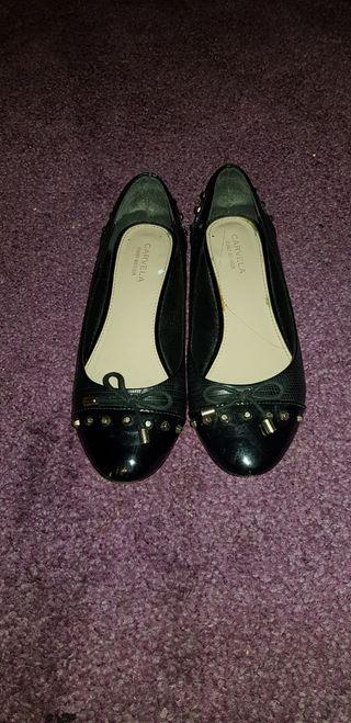 Carvela Black Flats - Size 5
