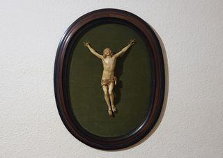 Cuadro Cristo Imitación Marfil