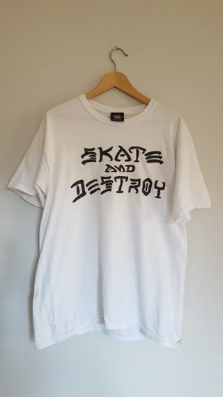 Camiseta Thrasher Skate and Destroy talla L