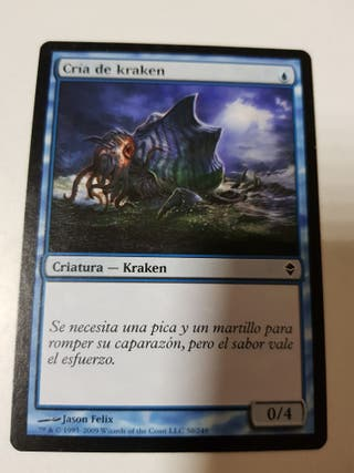 COLECCION 5 CARTAS MAGIC THE GATHERING. DECKMASTER