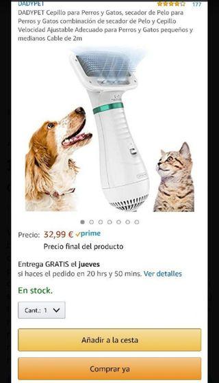 secador pelo perro