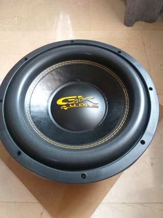 "Subwoofer Gk audio 12"" 1000Rms"