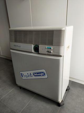 Maquina de aire frío portátil