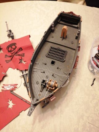 Playmobil: barco pirata