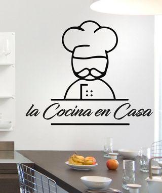 Vinilo Cociner la Cocina en Casa