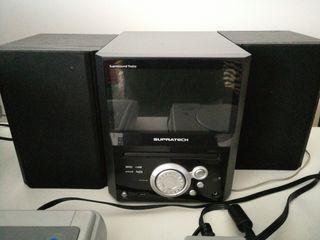 mini cadena tdt DVD supratech