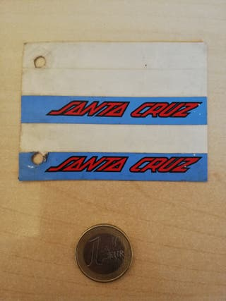 pegatina Santa Cruz Skate old school