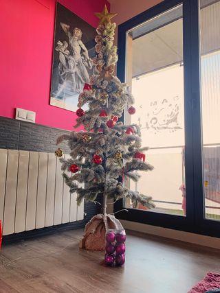 Arbol de Navidad + decoración