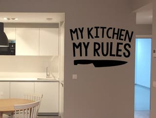 Vinilo my Cocina, mis Reglas