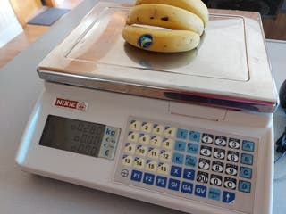 Balanza peso comercial Nixie Epelsa