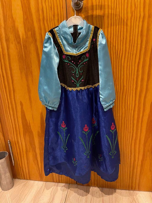 Disfraz princesa Frozen Anna