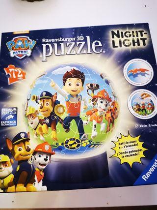 puzzle 3D la patrulla canina