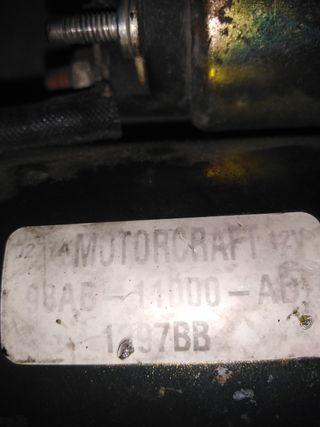 motor de arranque para Ford 1.8 tdci