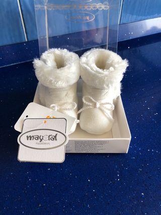 Botas patuco recién nacido 0-2 meses MAYORAL