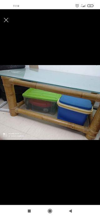 mesa de mambú