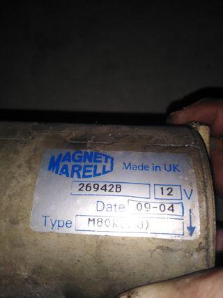 motor de arranque magneti marelli