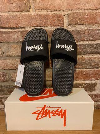 Nike Benassi Stussy Off Noir
