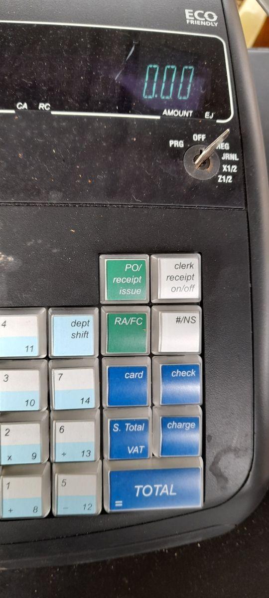 caja registradora olivetti ecr 7700 eco plus