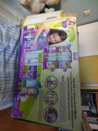 Centro comercial de Playmobil con Polly pockets