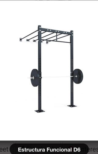 Rack sentadillas pesas