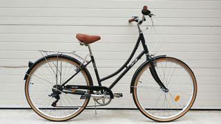 Bicicleta de paseo marca Fabric color negro
