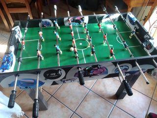 futbolín, billar, Air hockey, pin pon etc