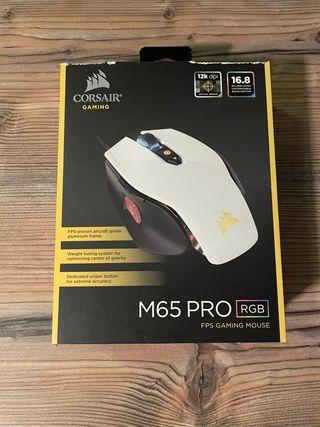 Ratón óptico M65 pro Rgb gaming Corsair