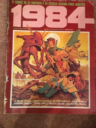Lote comics 1984